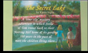 The Secret Lake - shelf talker