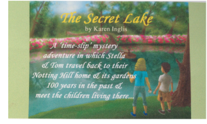 The Secret Lake - shelf talker