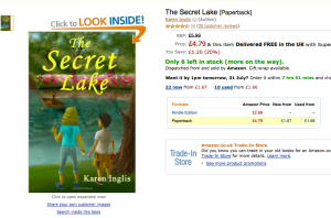 The Secret Lake - Amazon UK reviews