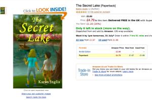 The Secret Lake - Amazon UK reviews
