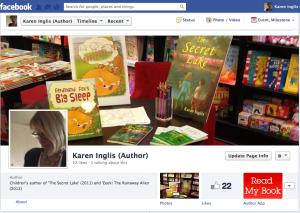 Karen Inglis children's author facebook page