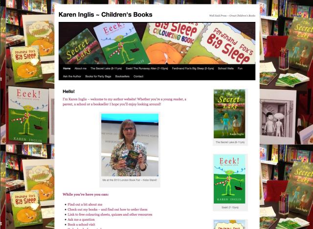Karen Inglis - author website