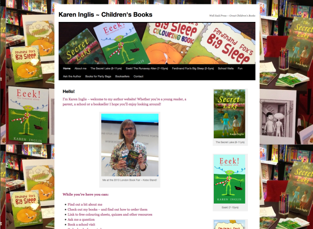 Karen Inglis - author website
