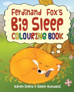 Ferdinand Fox's Big Sleep Colouring Book image