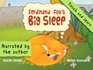 Promo shot for Ferdinand Fox's Big Sleep iPad App
