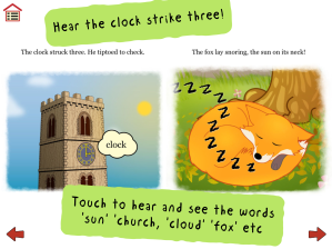 The clock strikes three - image from Ferdinand Fox's Big Sleep app
