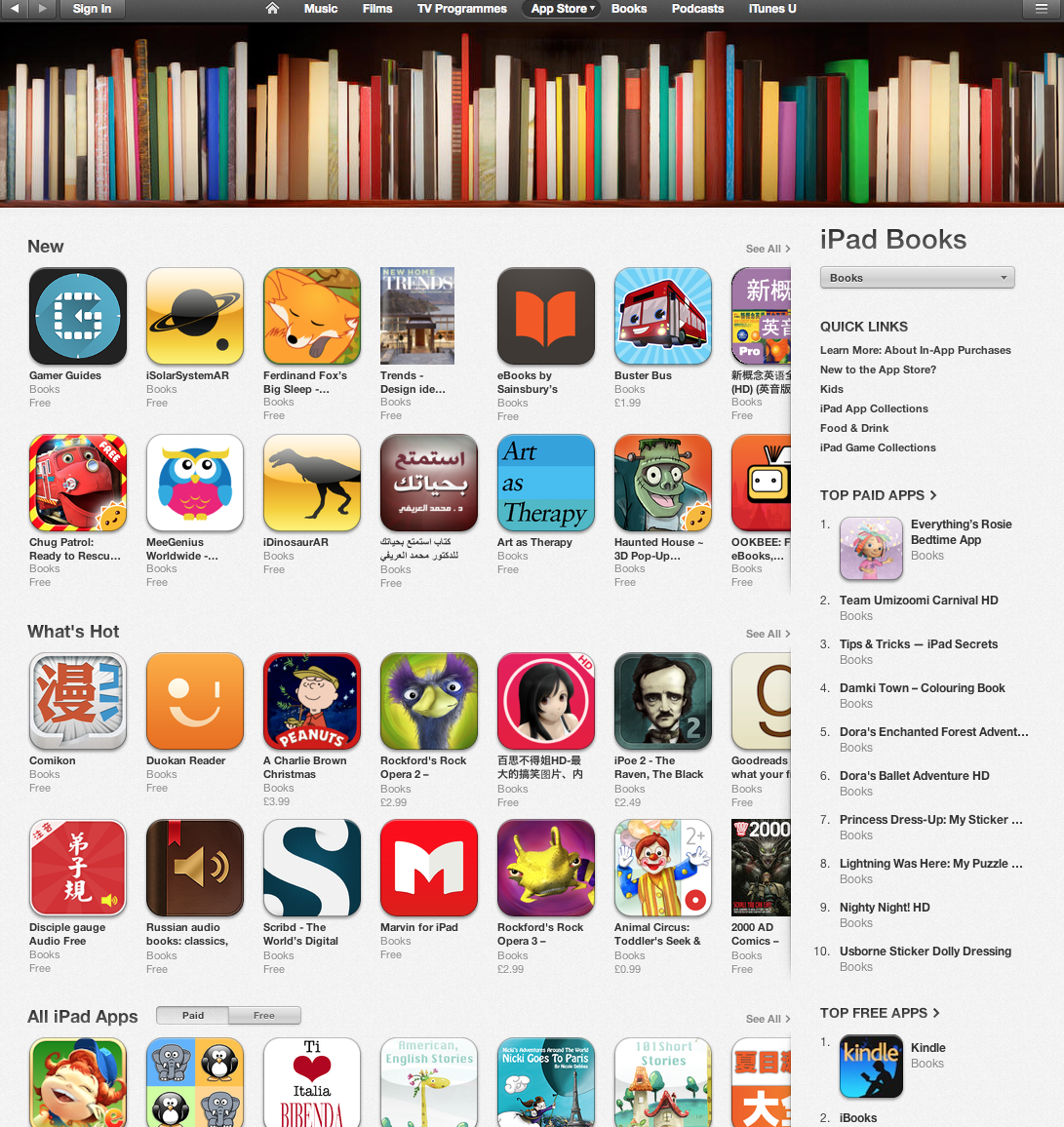 Ferdinand Fox In The App Store New Apps Section