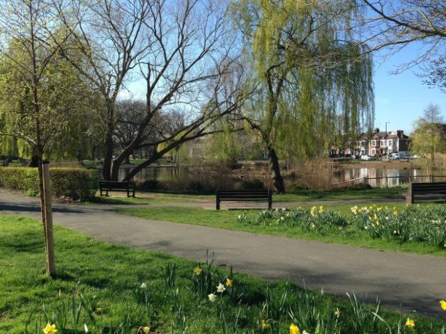 Barnes pond, Barnes, London SW13