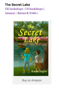 Image of The Secret Lake book cover and links to where to buy it