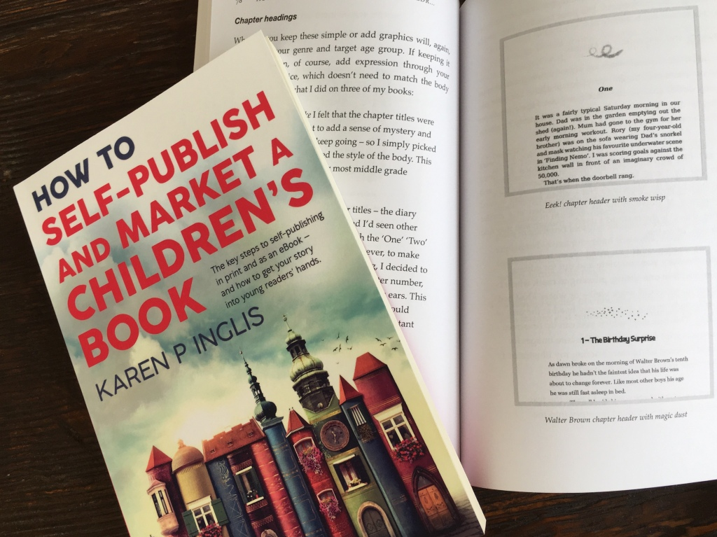Image of the front cover and interior of How to Self-publish and Market a